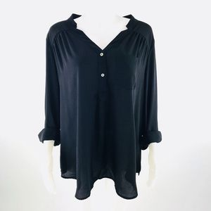 Fervour Mod Cloth Flowy Blouse Top Sz 2X